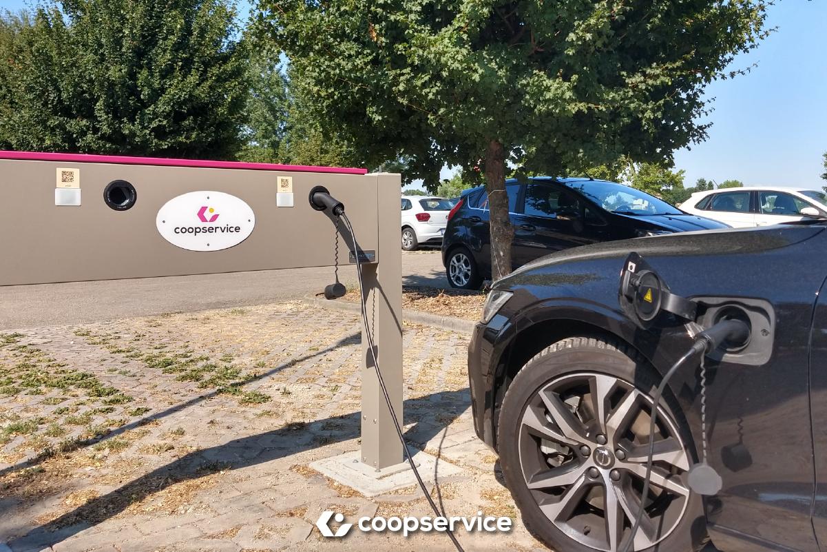 Con 'E-Mobility' parte la conversione all'elettrico dei veicoli Coopservice