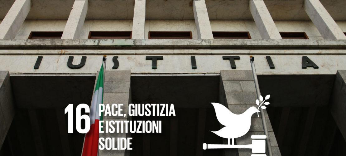 Pace + Giustizia = Sostenibilità